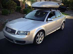We buy cars like this 2005 Audi S4