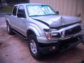 Sell my wrecked Toyota Tacoma
